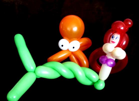 Baby Octopus & Mermaid