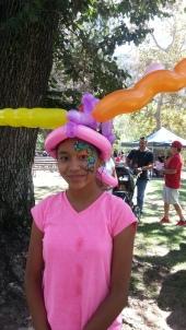 Crazy Rainbow Hat