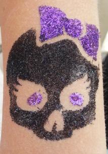 Every color glitter, even Black!
