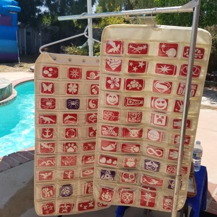 Huge selection of stencils