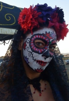Day of dead roses